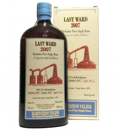 Last Ward 2007 Barbados Pure Single Rum - Mount Gay Distillery